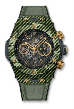 Big Bang Unico Italia Independent Green Camo  45 mm  - 411.YG.1198.NR.ITI16