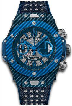 Big Bang Unico Italia Independent Blue  45 mm - 411.YL.5190.NR.ITI15