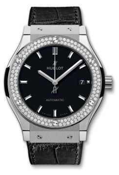CLASSIC FUSION TITANIUM DIAMONDS 45 mm - 511.NX.1171.LR.1104
