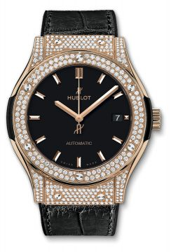 CLASSIC FUSION KING GOLD PAVÉ 45 mm - 511.OX.1181.LR.1704