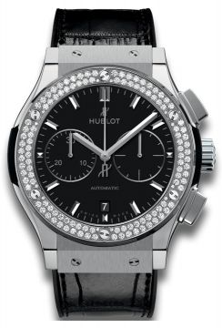 CLASSIC FUSION CHRONOGRAPH TITANIUM DIAMONDS 45 mm - 521.NX.1171.LR.1104