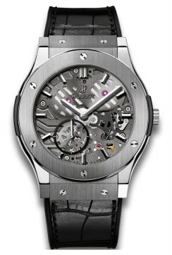 CLASSIC FUSION ULTRA-THIN SKELETON TITANIUM 45 mm - 515.NX.0170.LR