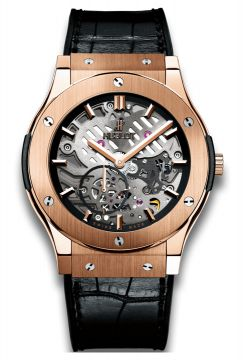 CLASSIC FUSION ULTRA-THIN SKELETON KING GOLD 45 mm - 515.OX.0180.LR