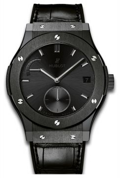 CLASSIC FUSION POWER RESERVE ALL BLACK 45 mm - 516.CM.1440.LR