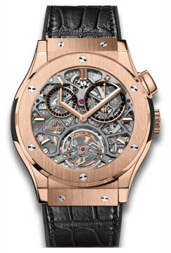 CLASSIC FUSION TOURBILLON SKELETON KING GOLD 45 mm - 506.OX.0180.LR