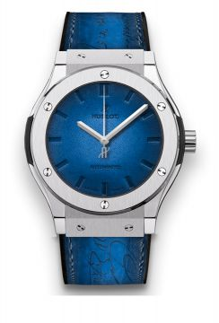 CLASSIC FUSION BERLUTI BLUE 45 mm -