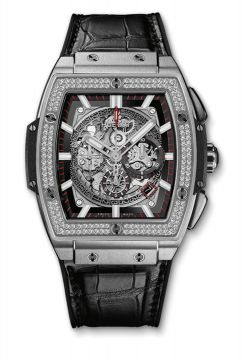 SPIRIT OF BIG BANG TITANIUM DIAMONDS 45 mm - 601.NX.0173.LR.1104