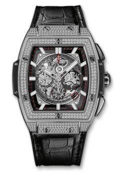 SPIRIT OF BIG BANG TITANIUM PAVÉ 45 mm - 601.NX.0173.LR.1704
