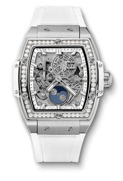 SPIRIT OF BIG BANG MOONPHASE TITANIUM WHITE DIAMONDS 42 mm - 647.NE.2070.RW.1204