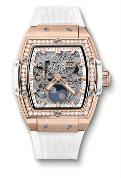 SPIRIT OF BIG BANG MOONPHASE KING GOLD WHITE DIAMONDS 42 mm - 647.OE.2080.RW.1204