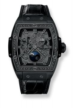 SPIRIT OF BIG BANG MOONPHASE ALL BLACK DIAMONDS 42 mm - 647.CI.1110.LR.1200