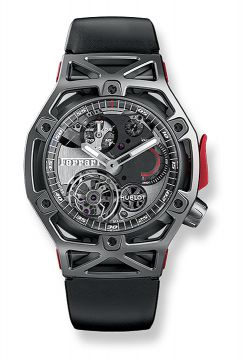 TECHFRAME FERRARI TOURBILLON CHRONOGRAPH TITANIUM 45 mm - 408.NI.0123.RX