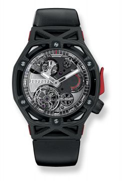 TECHFRAME FERRARI TOURBILLON CHRONOGRAPH CARBON 45 mm - 408.QU.0123.RX