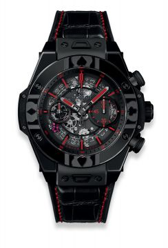 BIG BANG UNICO WORLD POKER TOUR ALL BLACK 45 mm - 411.CX.1113.LR.WPT17
