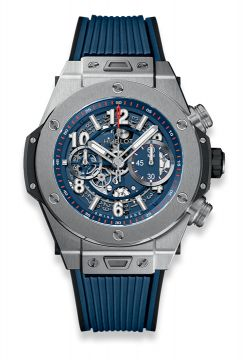 BIG BANG UNICO TITANIUM BLUE 45 mm - 411.NX.5179.RX