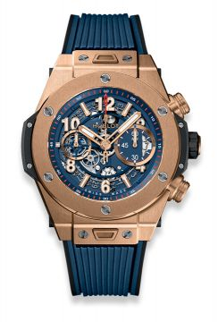 BIG BANG UNICO KING GOLD BLUE 45 mm - 411.OX.5189.RX