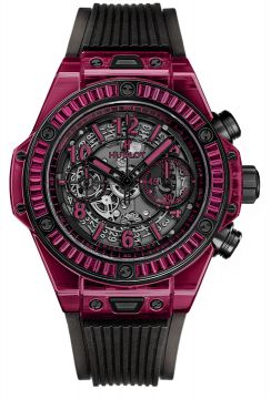 BIG BANG UNICO RED SAPPHIRE BAGUETTES 45 mm - 411.JR.4901.RT.1902