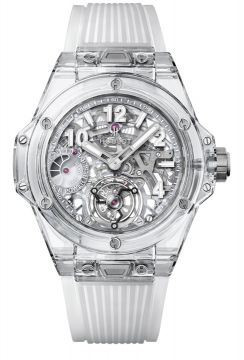 BIG BANG TOURBILLON POWER RESERVE 5 DAYS SAPPHIRE 45 mm - 405.JX.0120.RT