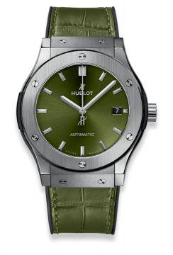 CLASSIC FUSION TITANIUM GREEN 45 mm - 511.NX.8970.LR