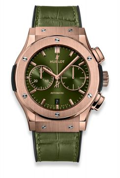CLASSIC FUSION CHRONOGRAPH KING GOLD GREEN 45 mm - 521.OX.8980.LR