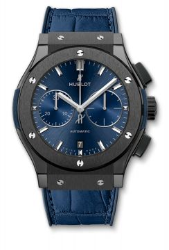 CLASSIC FUSION CERAMIC BLUE CHRONOGRAPH 45 mm - 521.CM.7170.LR