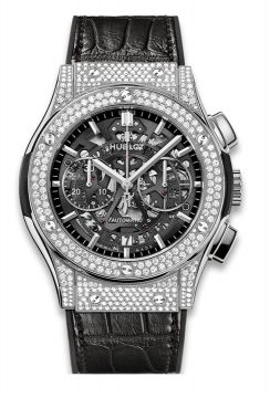 CLASSIC FUSION AEROFUSION TITANIUM DIAMONDS 45 mm - 525.NX.0170.LR.1704