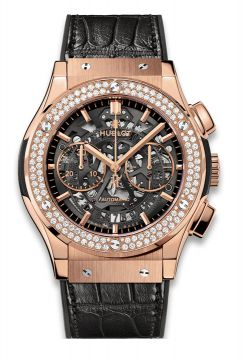 CLASSIC FUSION AEROFUSION KING GOLD DIAMONDS 45 mm - 525.OX.0180.LR.1104