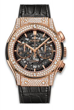 CLASSIC FUSION AEROFUSION KING GOLD PAVÉ 45 mm - 525.OX.0180.LR.1704