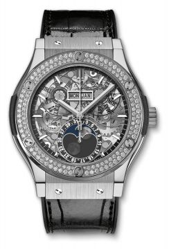 CLASSIC FUSION AEROFUSION MOONPHASE TITANIUM DIAMONDS 45 mm - 517.NX.0170.LR.1104