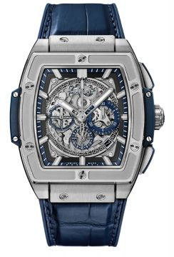 SPIRIT OF BIG BANG TITANIUM BLUE 45 mm - 601.NX.7170.LR