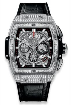 SPIRIT OF BIG BANG TITANIUM JEWELLERY 42 mm - 641.NX.0173.LR.0904