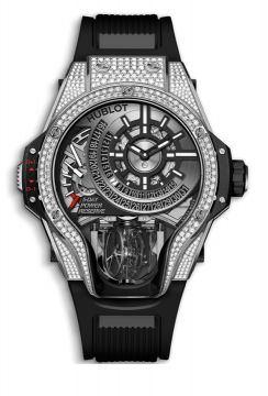 MP-09 TOURBILLON BI-AXIS TITANIUM PAVÉ 49 mm - 909.NX.1120.RX.1704
