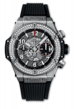 BIG BANG UNICO Titanium DIAMONDS 42 mm - 441.nx.1170.rx.1104
