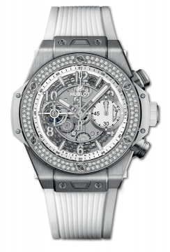BIG BANG UNICO TITANIUM WHITE DIAMONDS 42 mm - 441.NE.2010.RW.1104