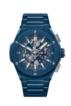 INTEGRAL BLUE CERAMIC 42 MM - 451.EX.5123.EX