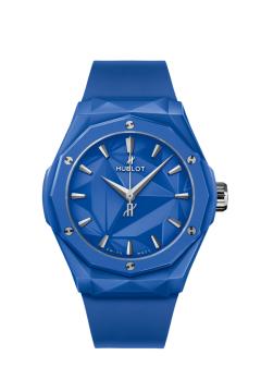 ORLINSKI BLUE CERAMIC 40 MM - 550.ES.5100.RX.ORL21