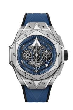 SANG BLEU II TITANIUM BLUE 45 MM - 418.NX.5107.RX.MXM20