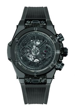 BIG BANG UNICO ALL BLACK SAPPHIRE 45 mm - 411.JB.4901.RT