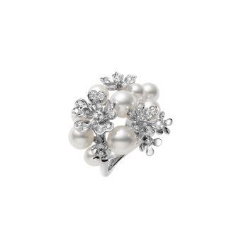 Mikimoto Bloom Collection Ring - PR-1481*U