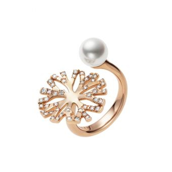 Mikimoto Coral Collection Ring - PR-1511*I