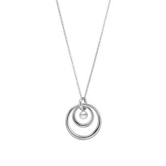 Mikimoto Circle Collection Pendant - PP-20578S