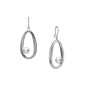 Moon Dew Pierced Earrings - PE-1735PS