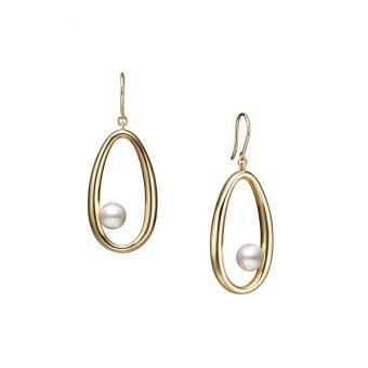 Moon Dew Pierced Earrings - PE-1735PK