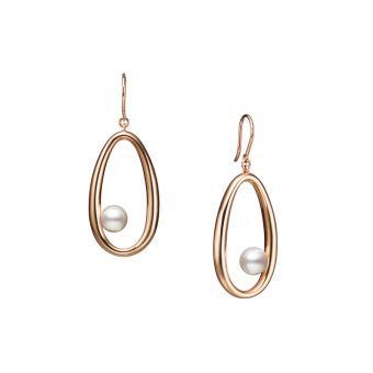 Moon Dew Pierced Earrings - PE-1735PI