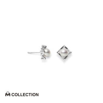 Mikimoto M Collection Pierced Earrings - PE-1722PU
