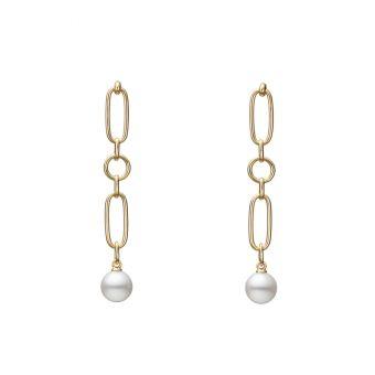 M Code Pierced Earrings - PE-1733PK