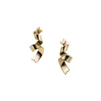 Jeux de Rubans Pierced Earrings - FE-143PK