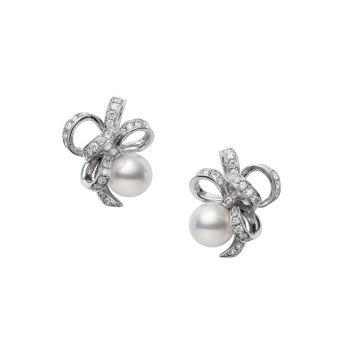 Jeux de Rubans Pierced Earrings - PE-1709PU