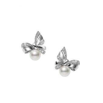 Jeux de Rubans Pierced Earrings - PE-1699PU