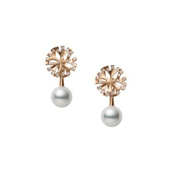 Mikimoto Coral Collection Pierced Earrings - PE-1707PI